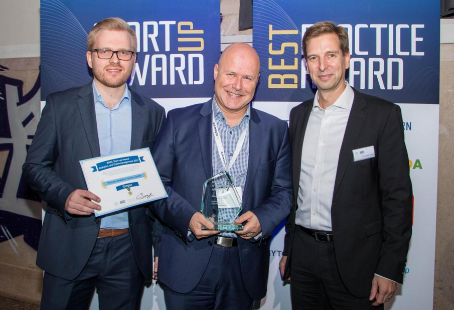 Die Gewinner des BARC Start-up Award 2017
